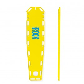 Rock Pin - facciata e profilo giallo