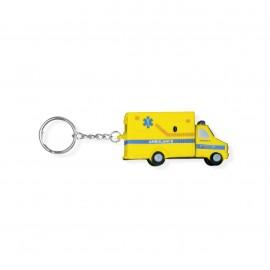 Portachiavi - Ford E-350 giallo squeezable