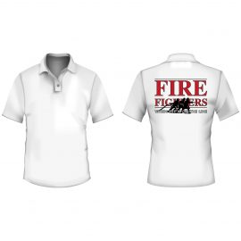 Polo - logo fire fighters
