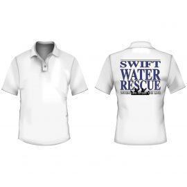 Polo - logo swift water rescue