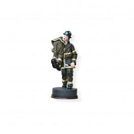 Statuina salvataggio pompiere