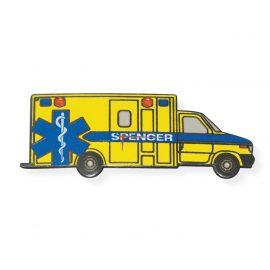 Pin - Ambulanza gialla con LED